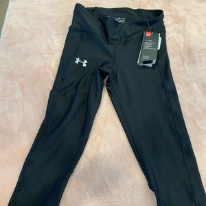 New! Under Armour Heat Gear Workout Capris